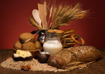 2. Excellents aliments pour la bouche : Pain et céréales de grains entiers.