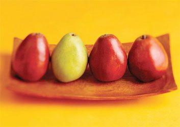 6. La poire diminue votre risque de cancer.