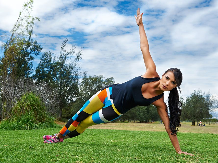 La force, l'un des bienfaits du yoga