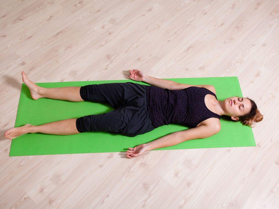Le yoga pour réduire le stress