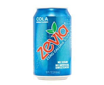 Les boissons gazeuses Zevia