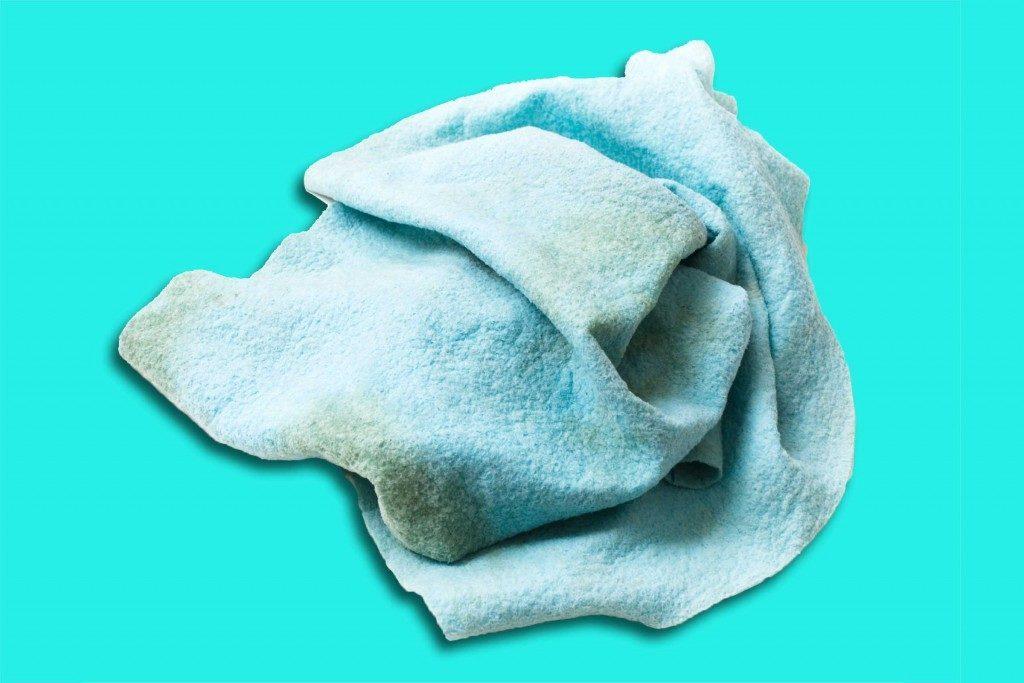 Nettoyage-bactéries-linge de cuisine