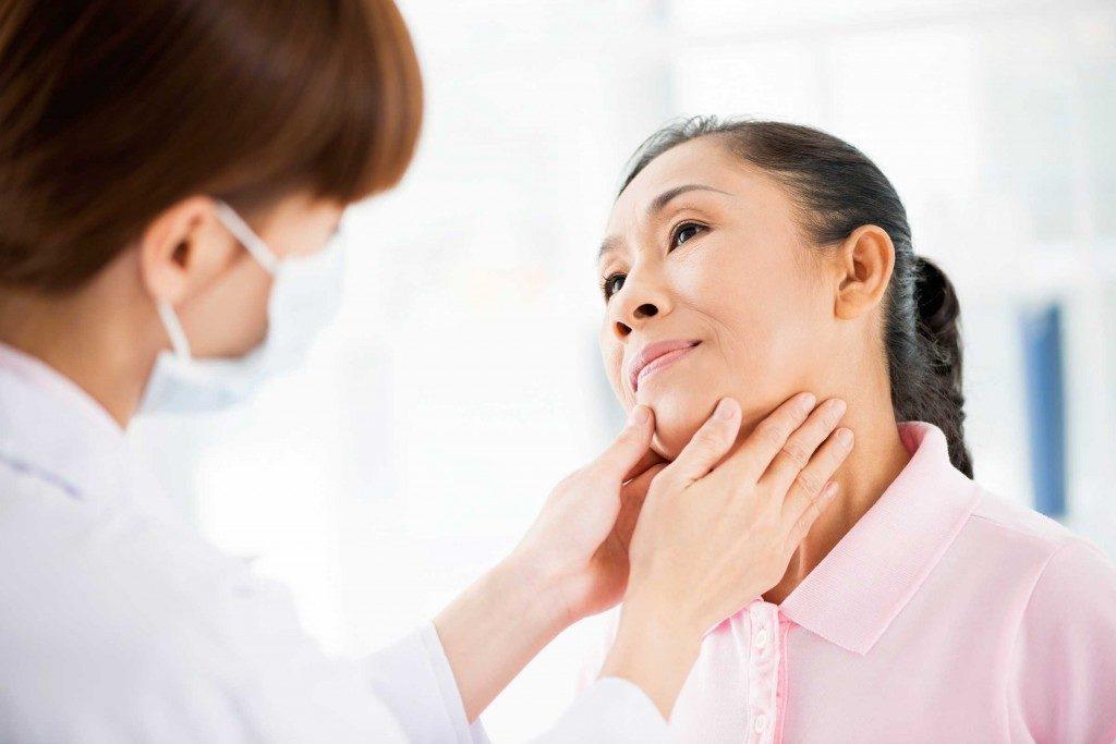 Cheveux-santé-glande thyroïde
