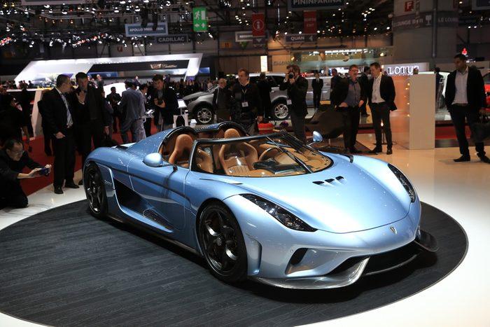 Koenigsegg, l'un des véhicules les plus chers au Canada.