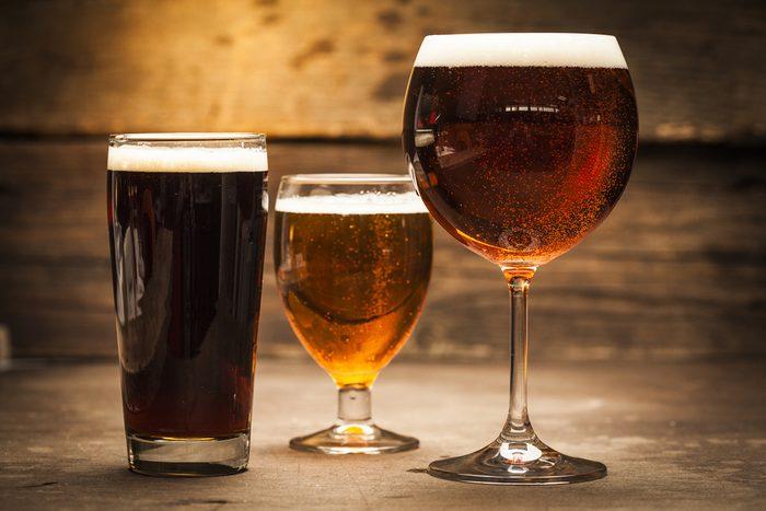 L'alcool parmi les meilleurs aliments pour le cholestérol.