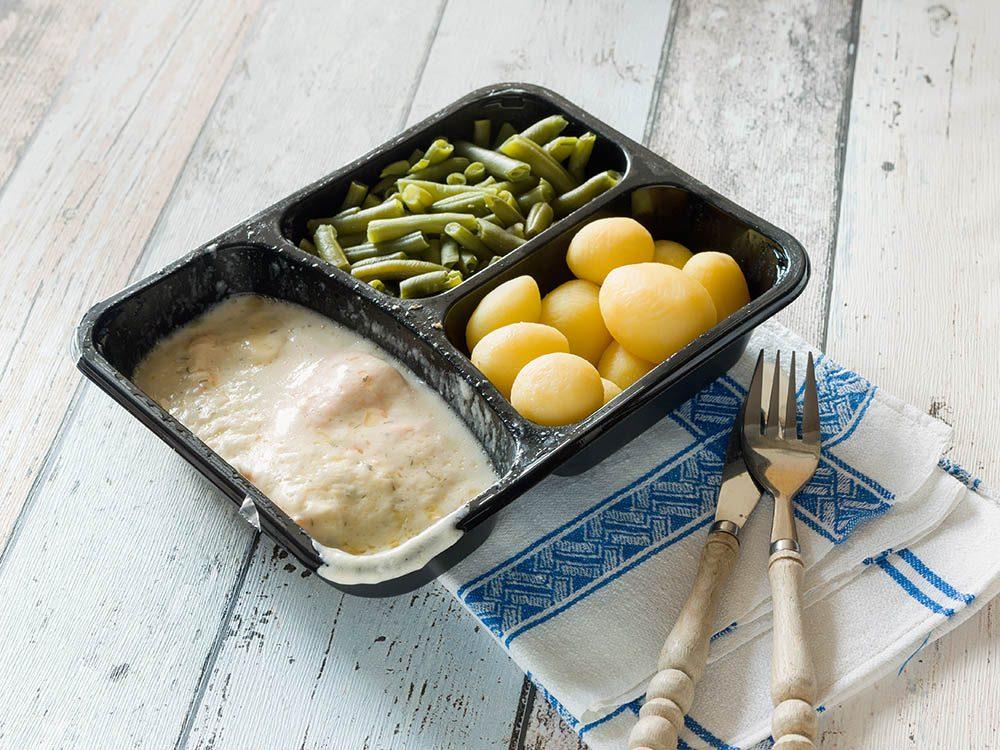 Aliments à ne pas racheter: le lunch sous emballage.