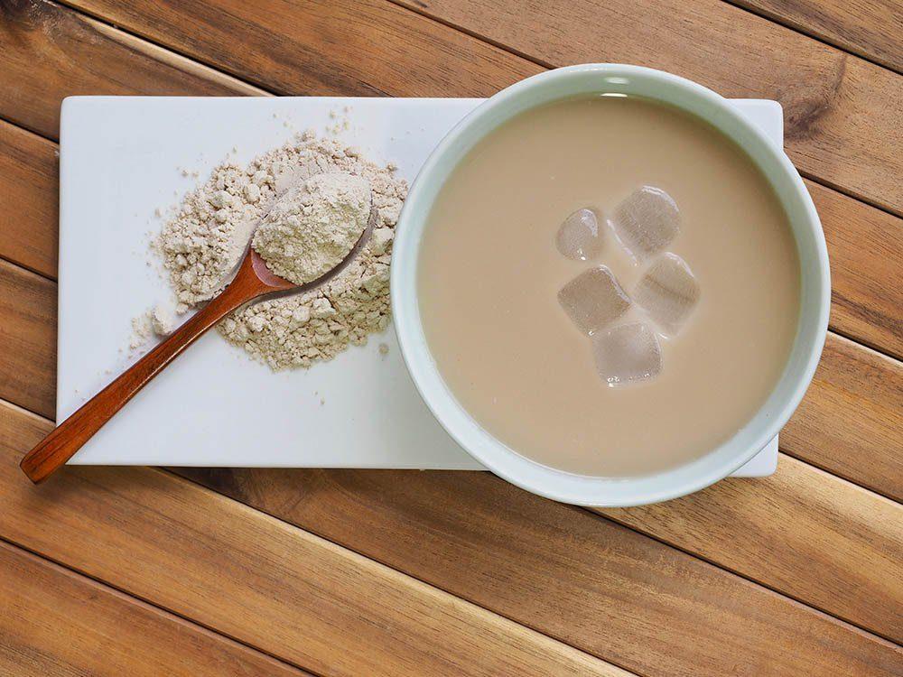 Aliments à ne plus racheter: la poudre à thé glacé.