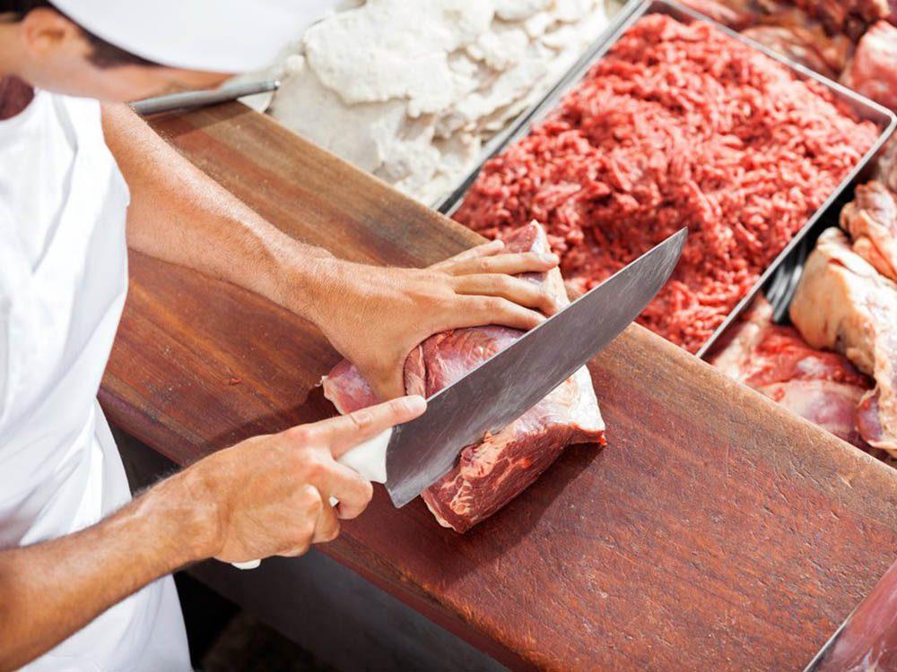 Aliments à ne pas racheter: des viandes grasses.
