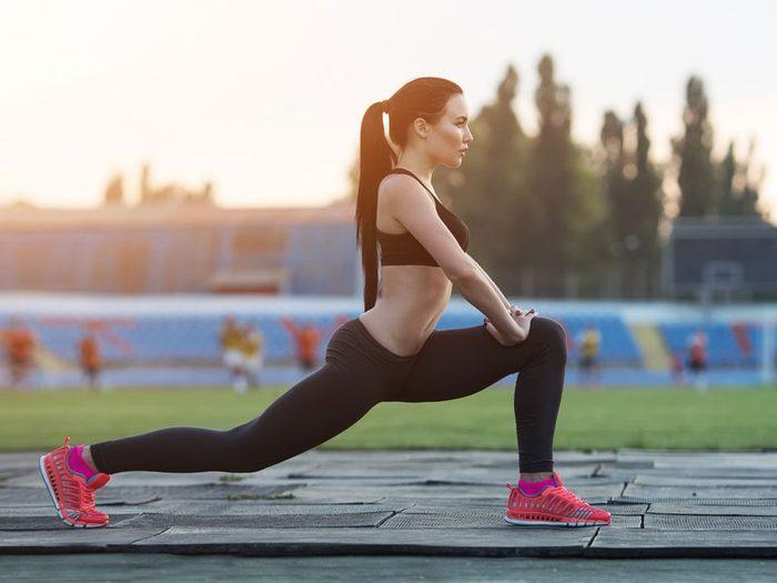 Pour stimuler votre métabolisme, faites travailler vos grandes groupes musculaires.