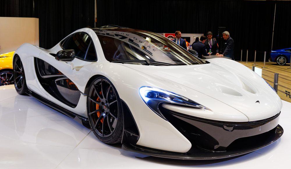 McLaren P1, l'une des autos les plus chères au Canada.