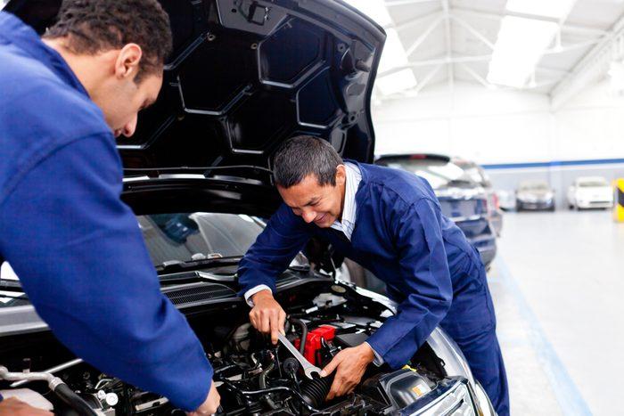 Le concessionnaire a tout intérêt à réparer convenablement une voiture louée