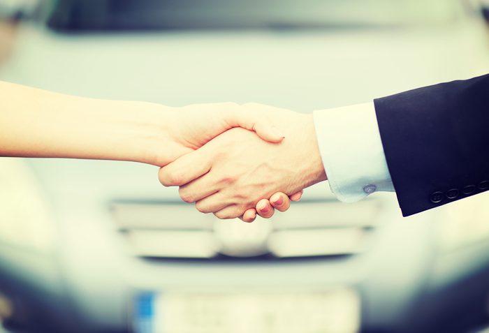 Autre avantage de la location d'auto : Vous n'avez pas à gérer la revente de votre automobile.