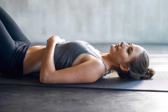 8. Vous avez mis de côté vos séances d'exercices