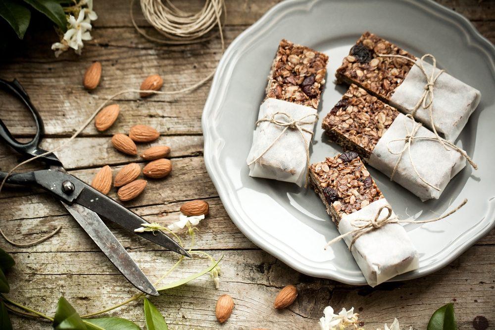 Des barres sucrées salées santé