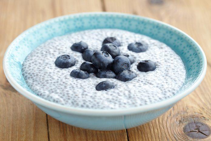Les graines de chia regorgent de bienfaits santé.