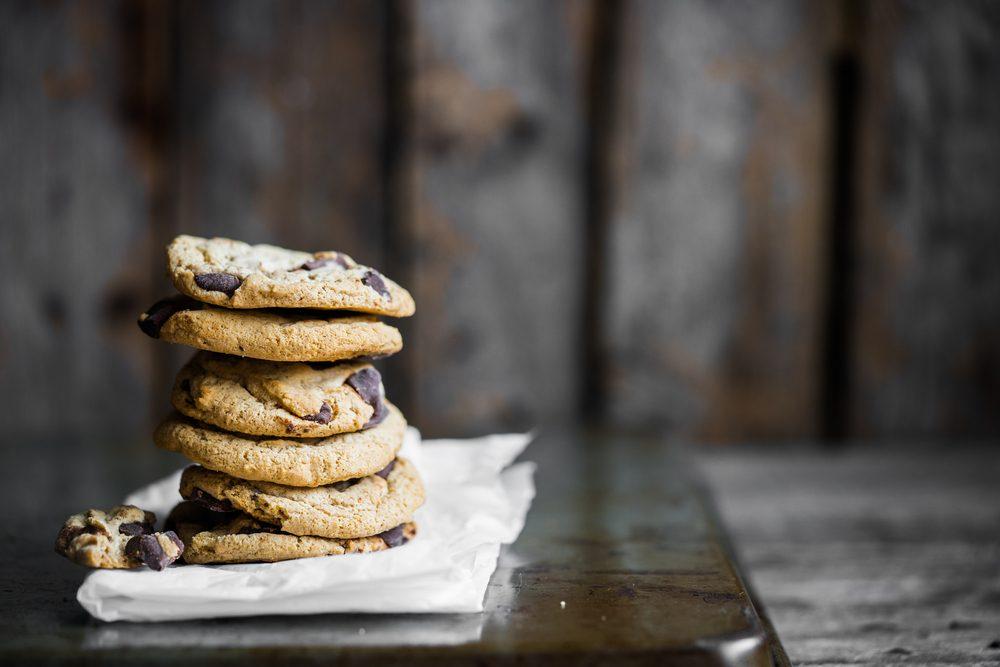 Des biscuits aux pépites de chocolat santé pour perdre du poids