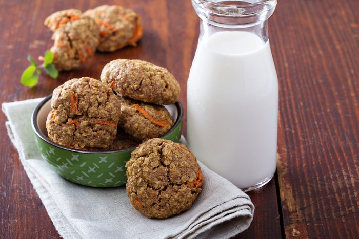 Une recette de biscuits à l'avoine.