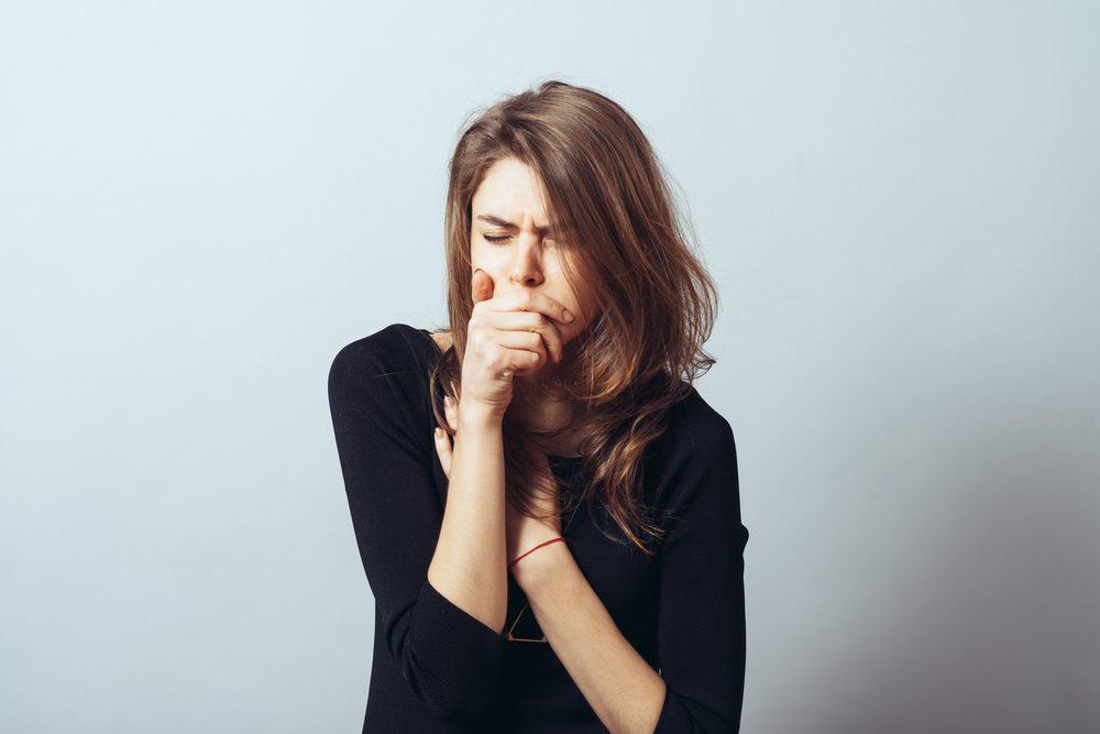 Symptôme de cancer chez la femme: toux chronique