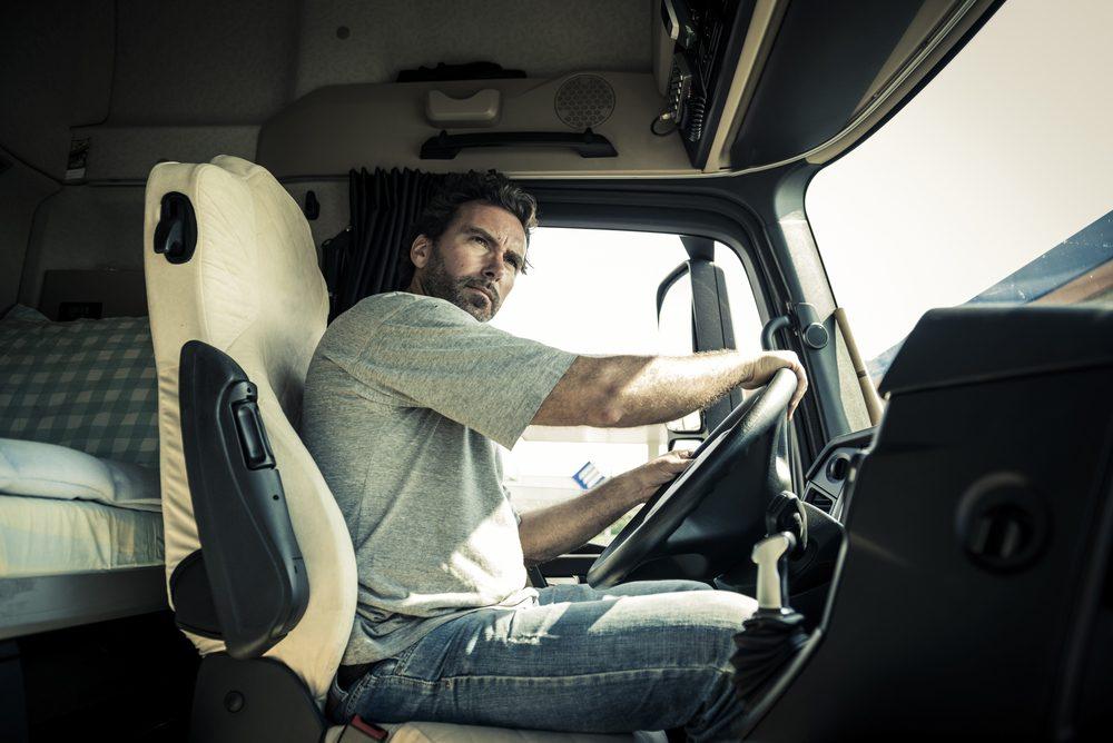 Les chauffeurs de camion sont nombreux à souffrir d'un mal de dos.