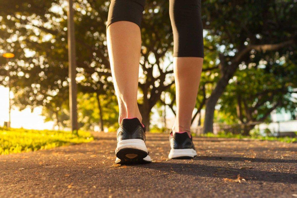 Marcher, c'est bon pour la santé.
