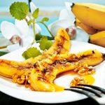 Bananes brûlées à la cannelle