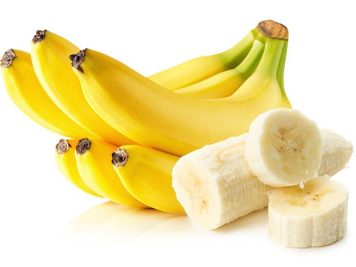 La banane fait partie de la catégorie des aliments qui font maigrir.