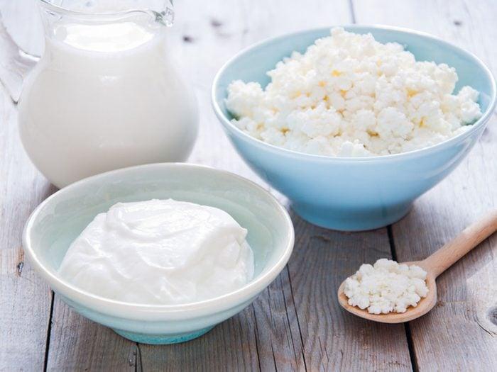 Ne pas manger suffisamment de calcium peut empêcher de maigrir.
