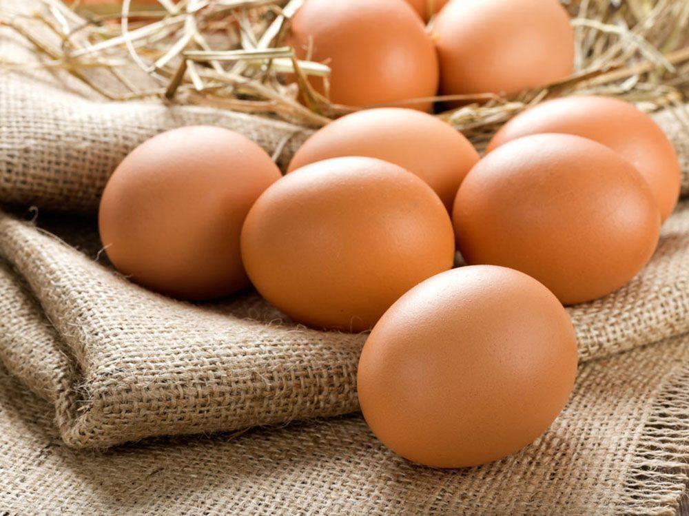 Les oeufs sont une excellente source de protéines, ce qui favorise la perte de poids.