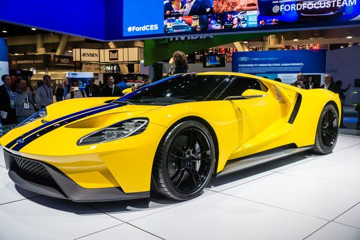 La Ford GT, l'une des plus chères au pays.