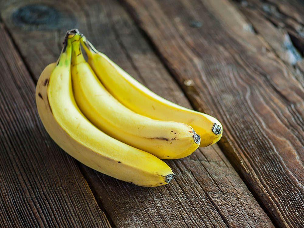 Remède contre l'herbe à puce: la peau de banane.