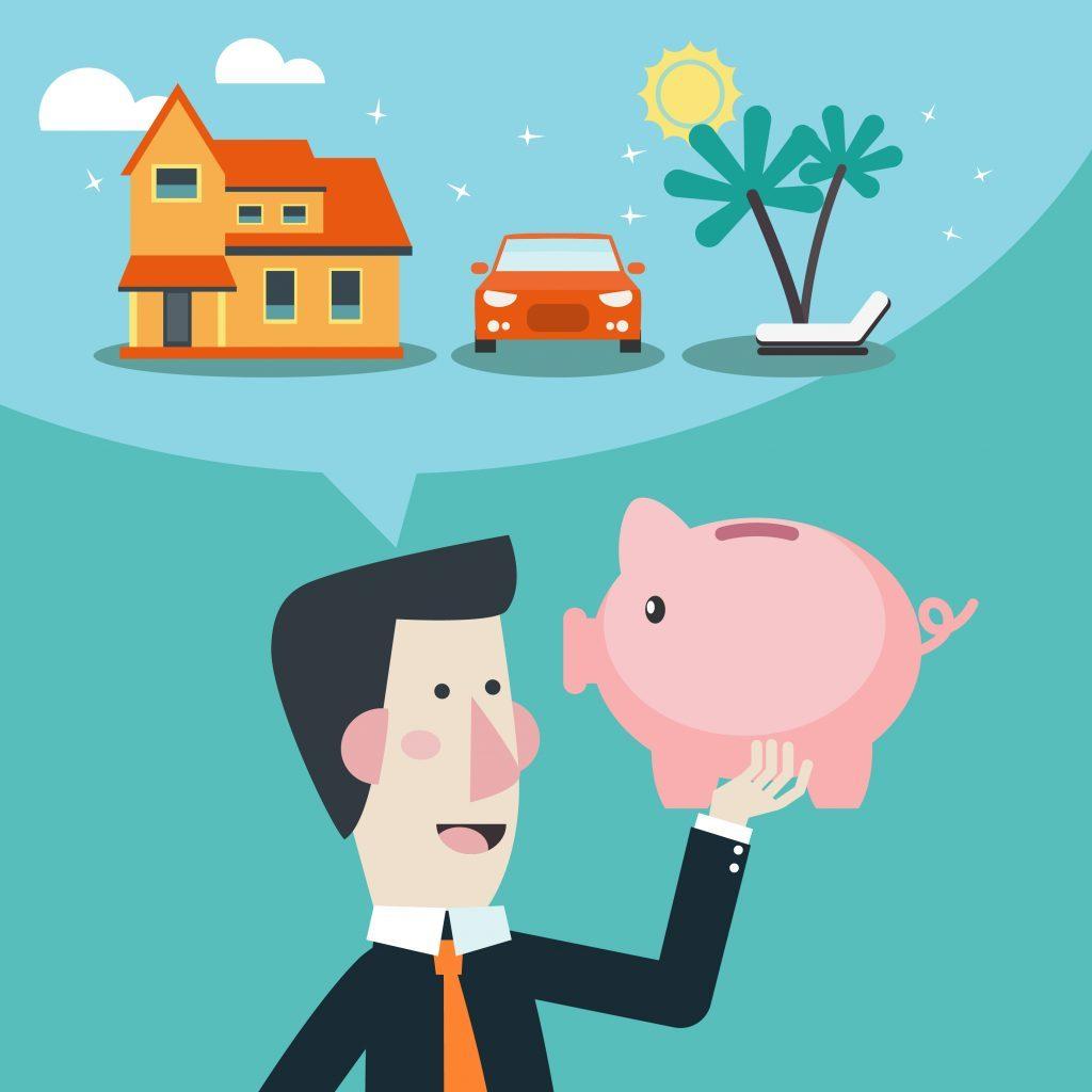 Autre avantage de la location d'autos: Vous pouvez consacrer de l'argent à d'autres dettes avec une voiture louée