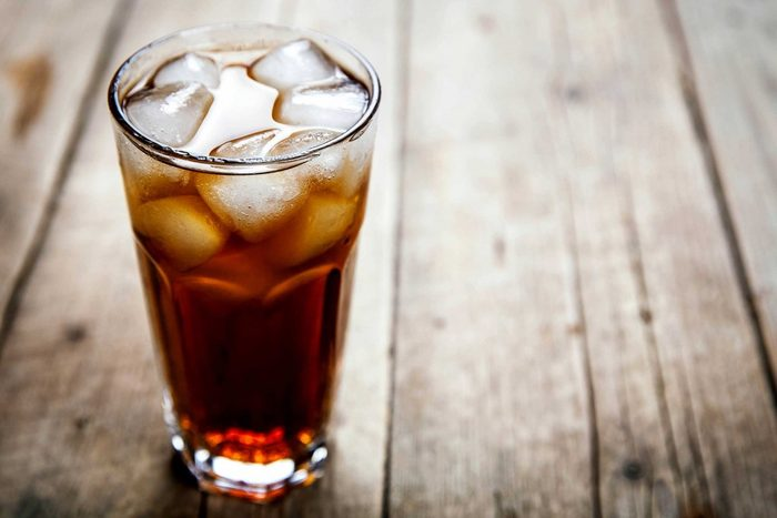 4. They avoid carbonated drinks