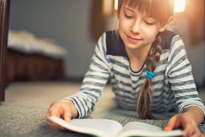 Votre maison révèle à quel point vos enfants lisent bien.