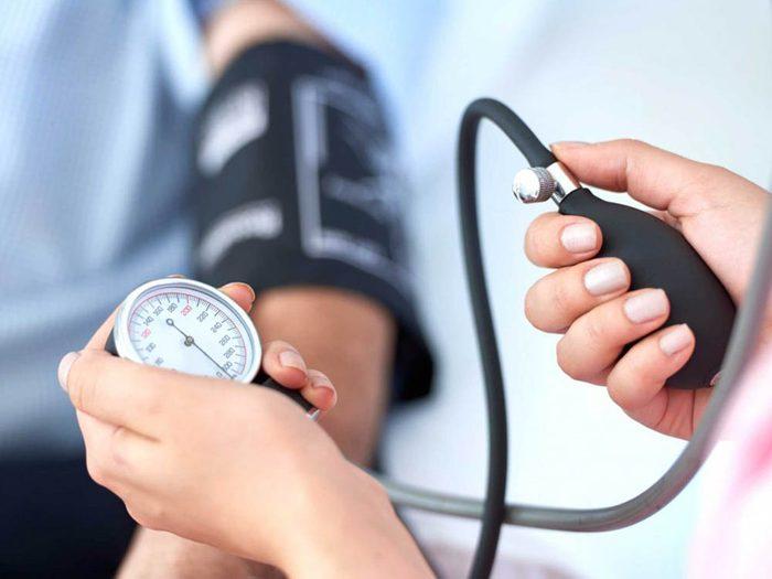 Manger trop de sucre créer de l'hypertension.