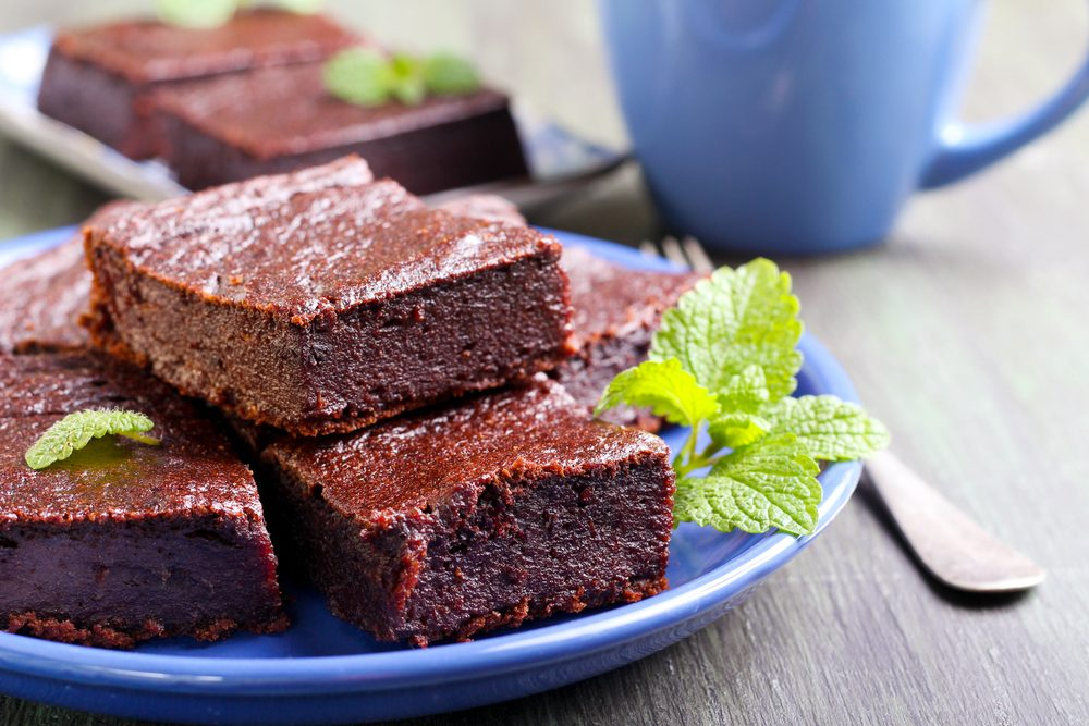 Carrés au chocolat santé pour perdre du poids