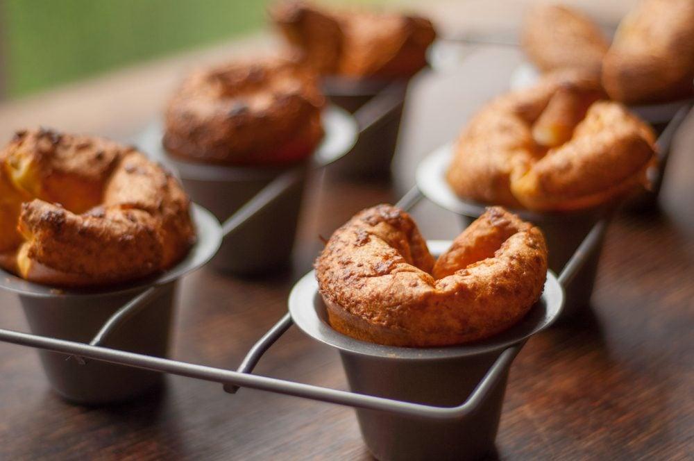Des popovers comme dessert santé pour perdre du poids