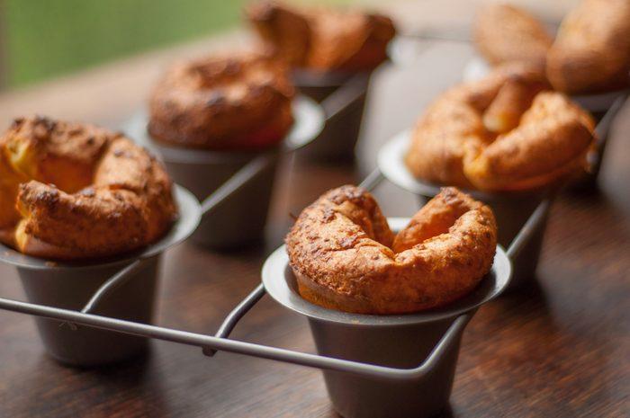 Des popovers comme dessert santé pour perdre du poids.