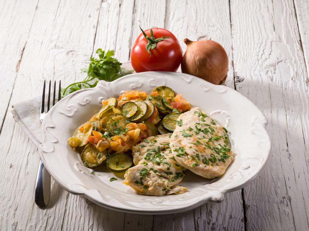 Une recette d'escalopes de poulet au pesto décadentes
