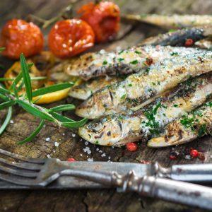 Ballotins de sardines grillées au couscous