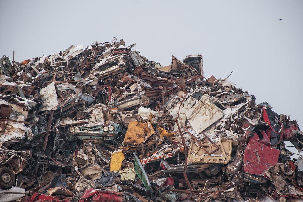 Les pièces de voitures recyclées ne se retrouveront pas dans un site d'enfouissement