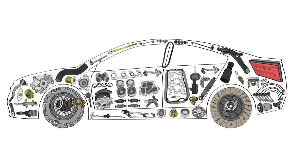 Le recyclage de votre auto est bon pour l'environnement: une pièce d'auto recyclée évitera la manufacture de pièces neuves.