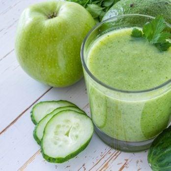 Smoothie pommes et concombres