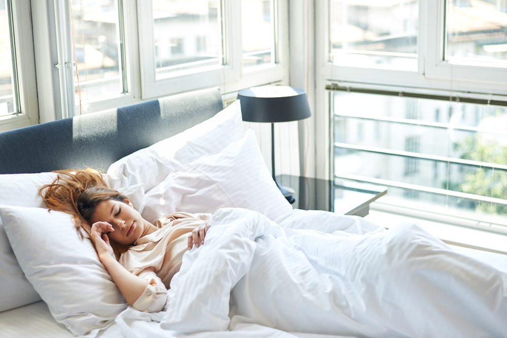 Pour renforcer votre système immunitaire, dormez suffisamment.
