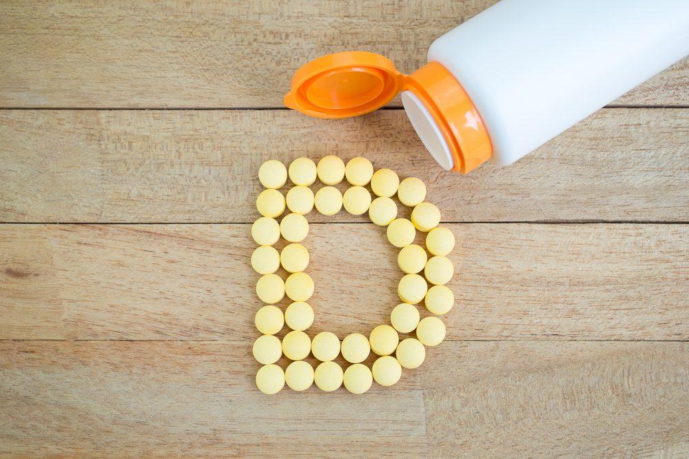 Renforcez votre système immunitaire en prenant de la vitamine D.