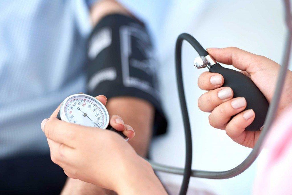 5. Vous avez été diagnostiqué avec de l'hypertension