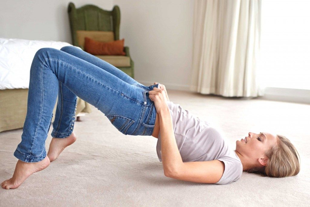 8. Vos jeans sont un peu trop ajustés ?