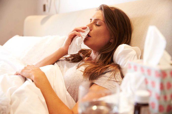 Être toujours malade est un signe que vous êtes trop stressé.