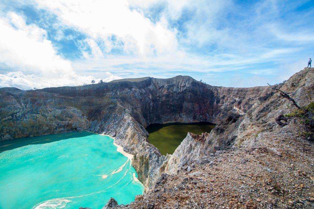 Le Kelimutu en Indonésie