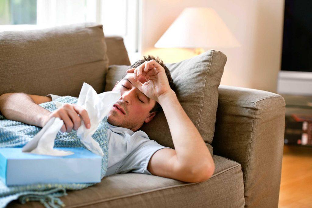 rhume-virus-vitamine D-carence-symptôme