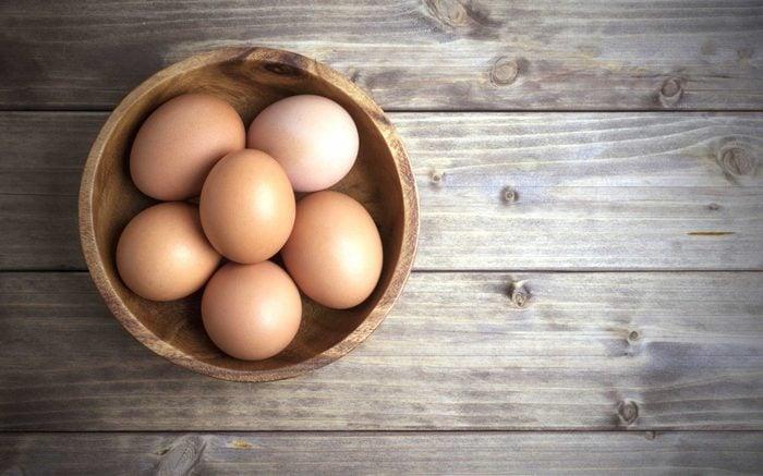 Riches en protéines, les oeufs aident à maigrir.